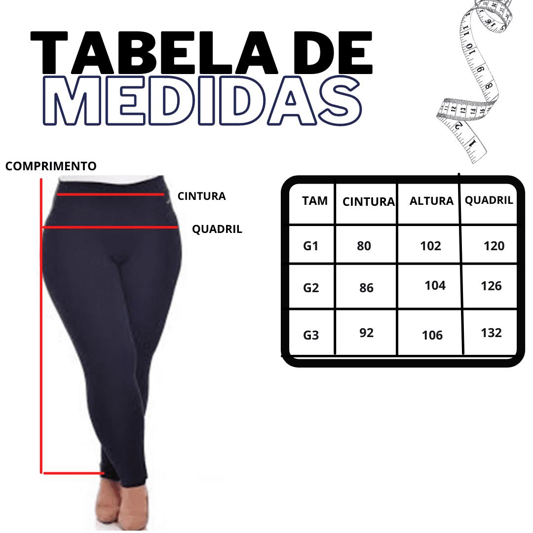KIT 3 CALÇA EXTRA LEG SKINNY MODELADORA