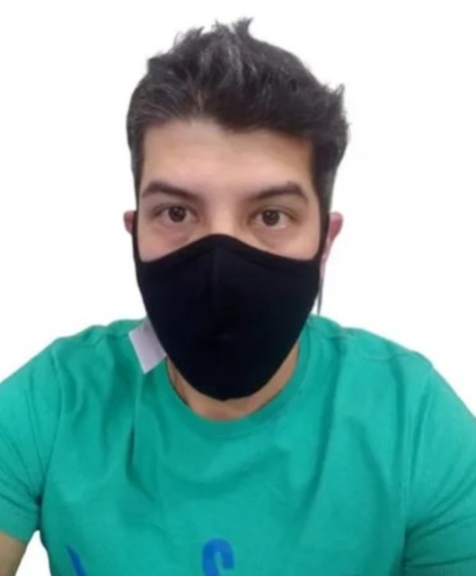 Kit 3 Máscara Ninja Preta