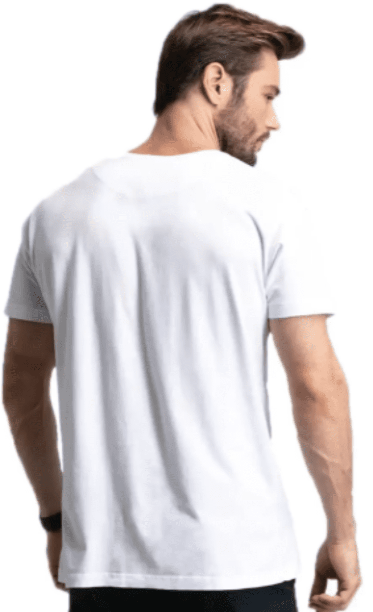 Kit 4 Masculino Gola V Branco, Preto e Sortido