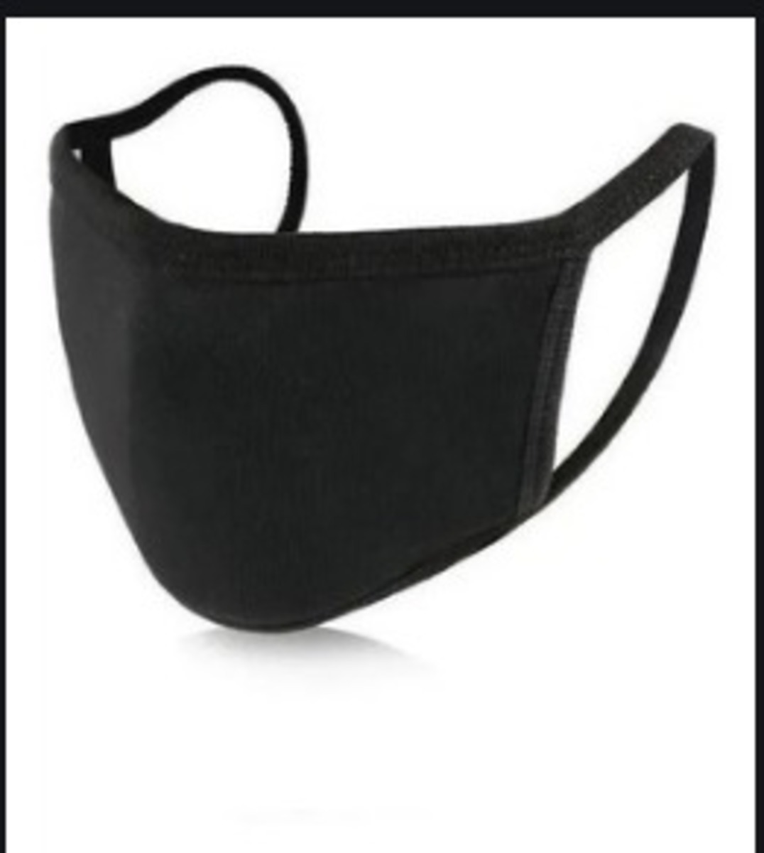 Kit 5 Máscara Ninja Preta