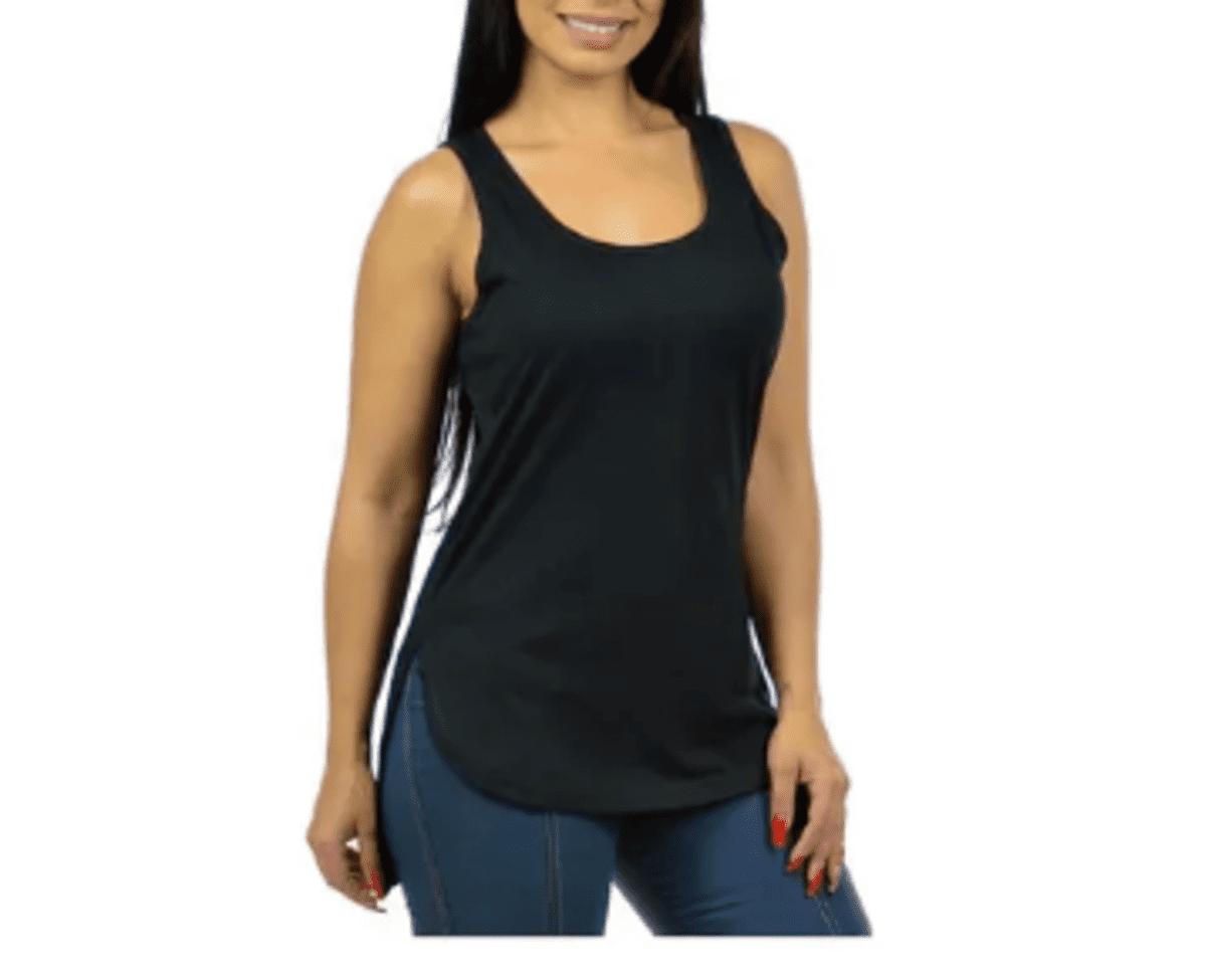 Kit 5 Regata Tshirt Longline