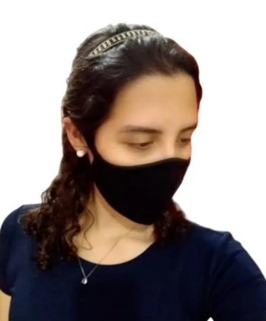 Kit 6 Máscara Ninja Preta
