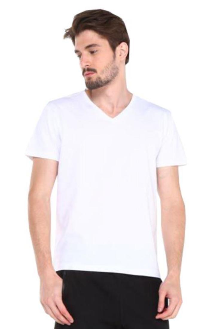 Kit 8 Camisetas Gola V Algodão Tradicional Slim Premium Atacado