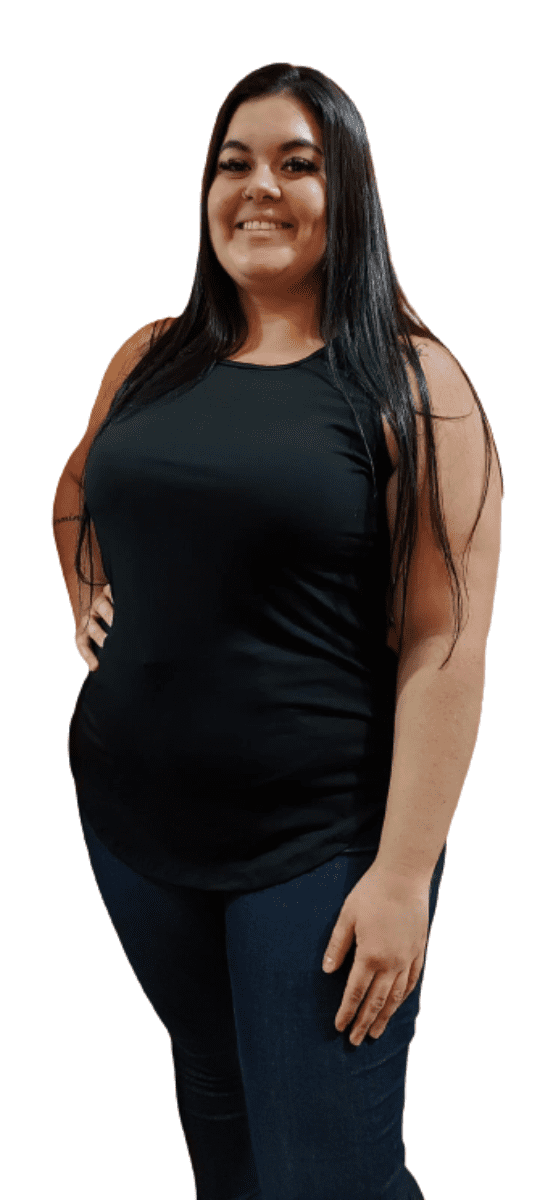 Regata Tshirt Longline Feminina Extra