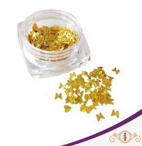 Borboleta Dourada - Glitter