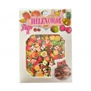 Cartela de Frutinhas para Decoração - Helen Color