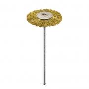 Escova Aço Dourado de Alto Brilho -American Burrs Nails  MSHC78C