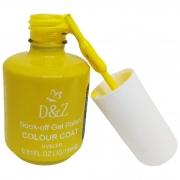 Esmalte DeZ Soak-off Gel Polish COLOUR COAT Amarelo 15ml