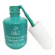 Esmalte DeZ Soak-off Gel Polish COLOUR COAT Verde Água 15ml