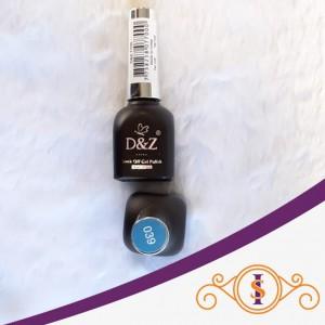 Esmalte em Gel D&Z 12ml - Soak Off Gel Polish - Cor 039