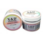 Gel Led UV X&D 17 Nude 56G