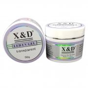 Gel Led UV X&D TRANSPARENT 56G