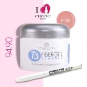 Gel - T3 Fibergel Classic Uv - Pink - 28g - GANHE UMA CANETA PRIMER