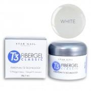 Gel - T3 Fibergel Classic Uv - White - 7g