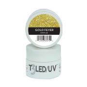 Gel - T3 Sparkle Led/Uv 7G - Gold Fever