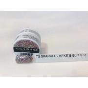 Gel - T3 Sparkle Led/Uv 7G - Keke´S Gittr