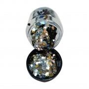 Glitter Flocado Para Decoração de Unhas
