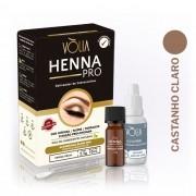 Henna Pro delineador de Sobrancelhas - Castanho Claro