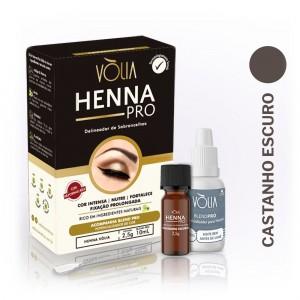 Henna Pro delineador de Sobrancelhas - Castanho Escuro