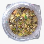 Magic Glitter para decoração de unhas - Helen Color