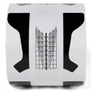 Molde de plástico preto - 300 unidades - Nail