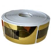 Molde Quadrado Dourado - 500 unidades