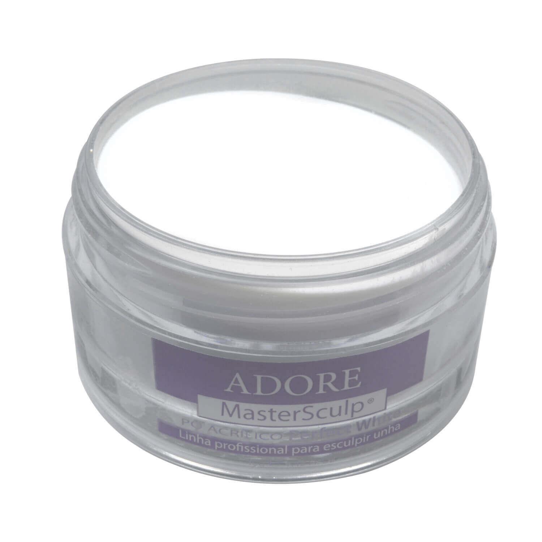 Adore MasterSculp Pó Acrílico Reverse Perfect White 40g