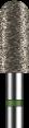 Broca Diamantada PM Precision - Grossa - Cilíndrica Topo Esférico - PM95G-N