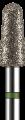 Broca Diamantada PM Precision - Grossa - Cônica Topo Arredondado - PM721G-N