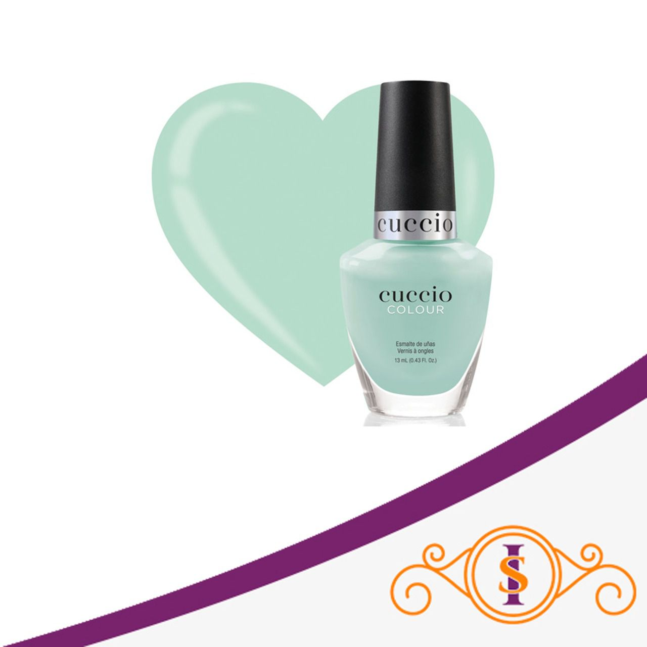 Esmalte  Colour - Mint Sorbet 13 ml