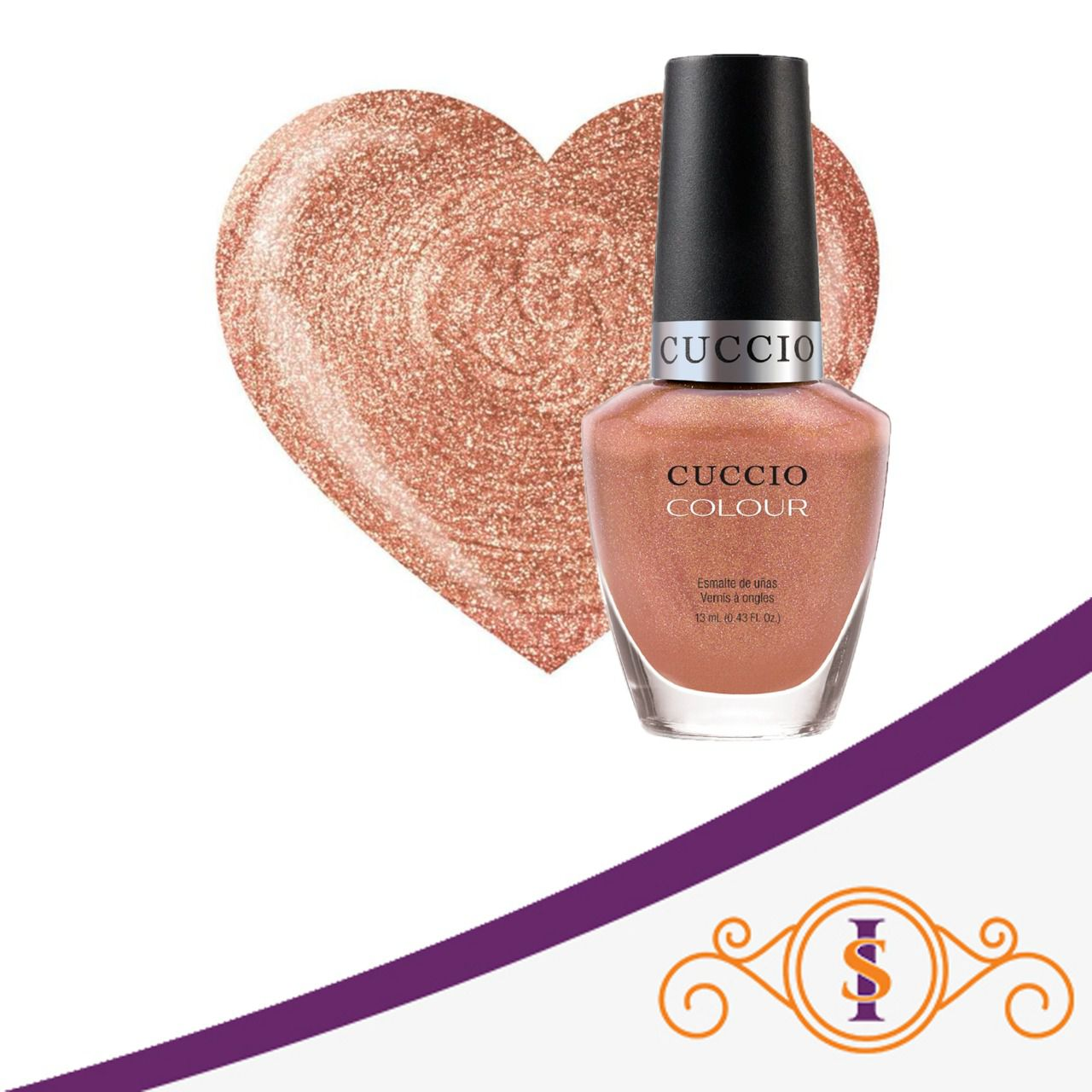 Esmalte Colour - Rose Gold Slipper - 13ml