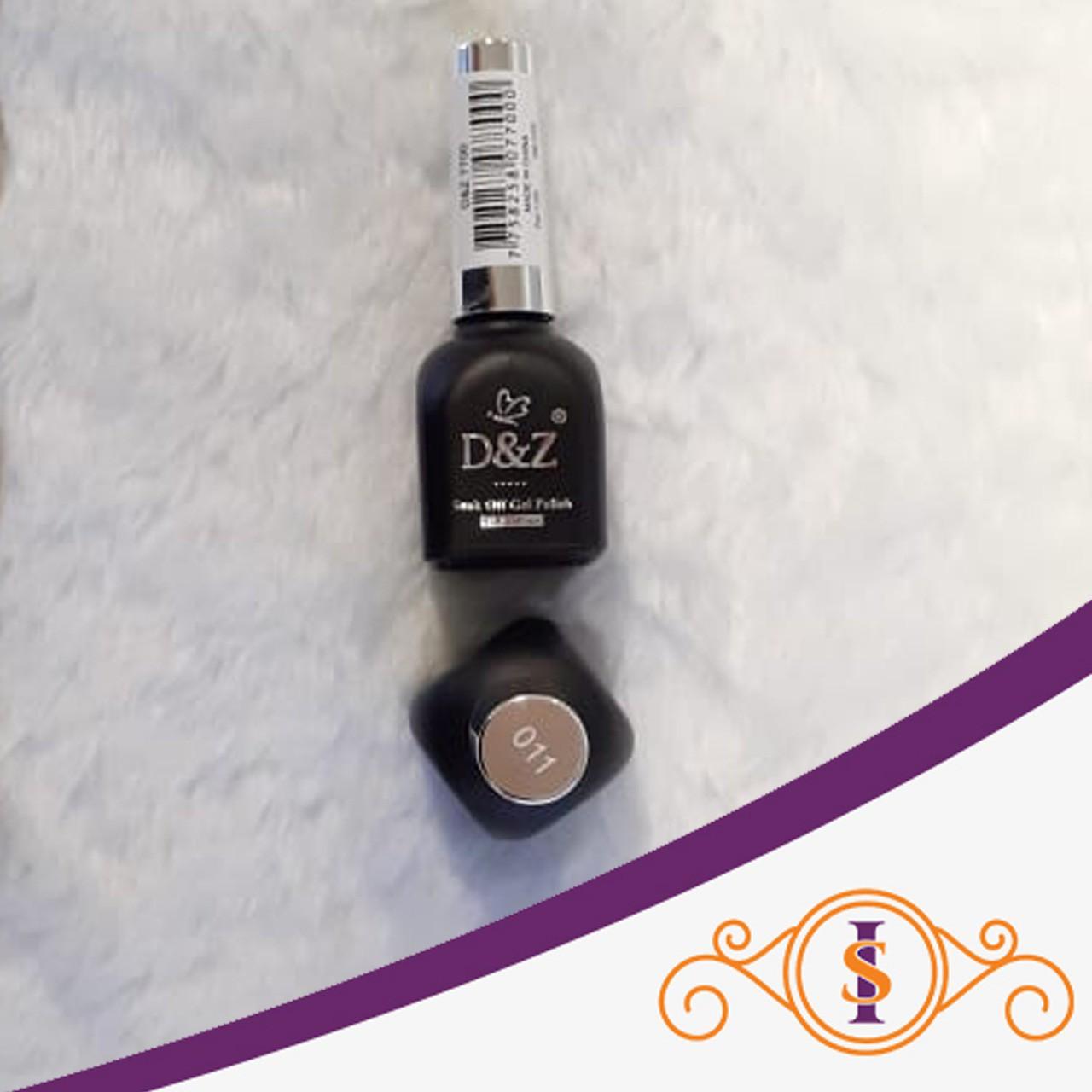 Esmalte em Gel D&Z 12ml - Soak Off Gel Polish - Cor 011