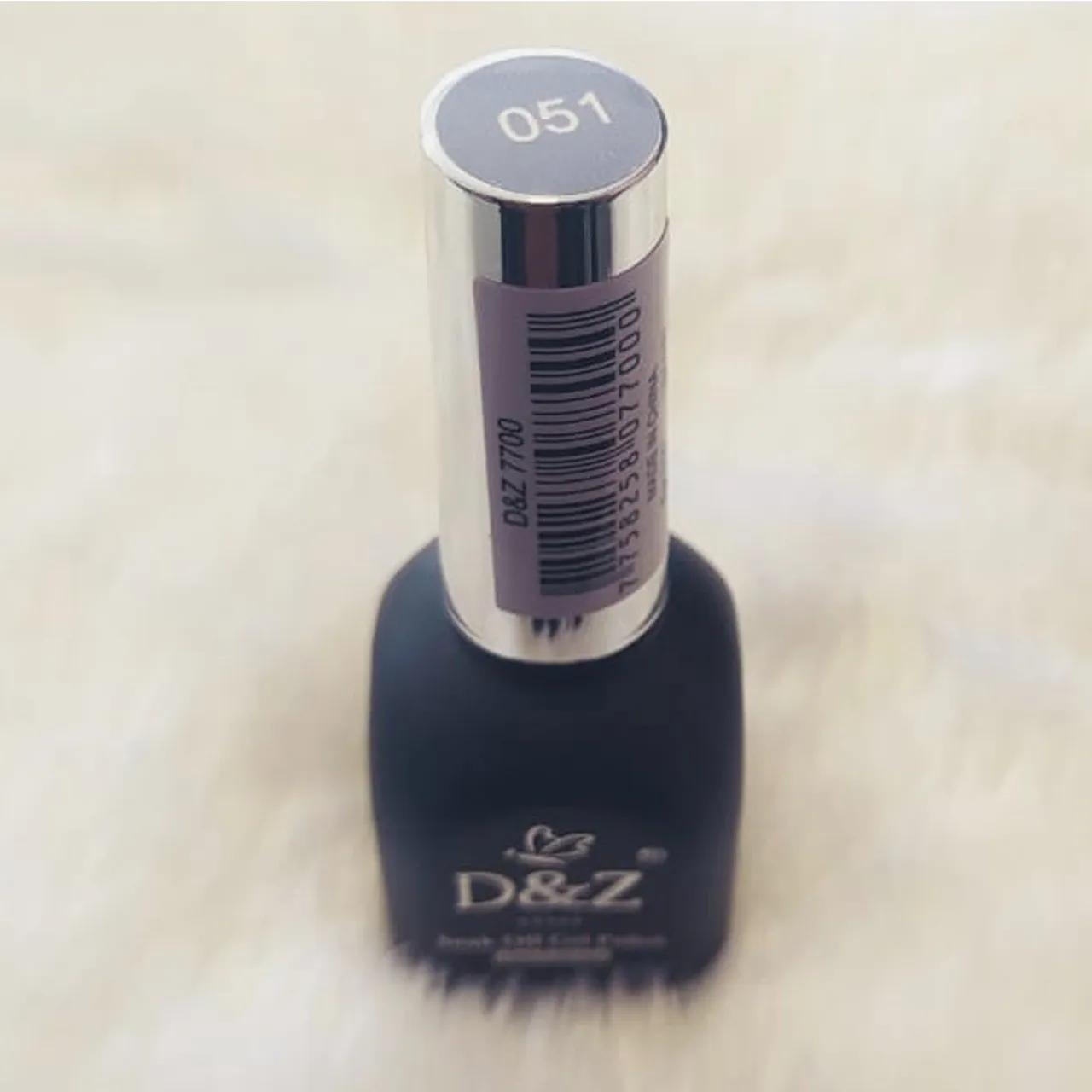 Esmalte em Gel D&Z 12ml - Soak Off Gel Polish - Cor 051