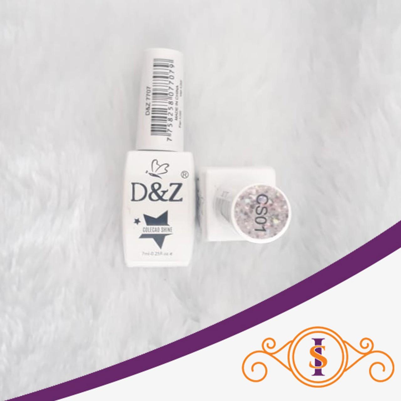 Esmalte em Gel D&Z 7ml - Soak Off Gel Polish - CS01