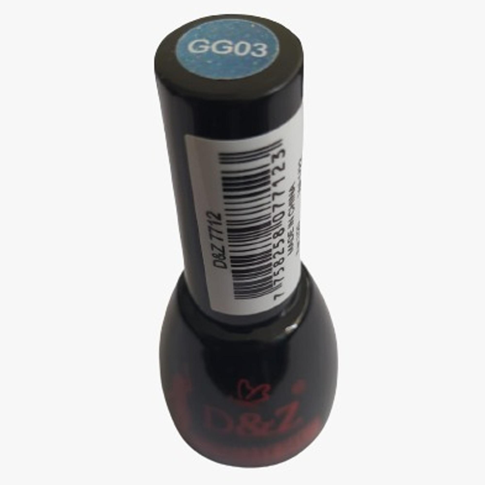 Esmalte Gel Vitral D&Z Glitter – 12 ML – GG03