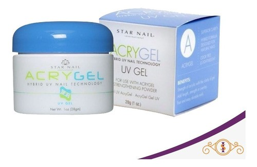 Gel - Acrygel Uv 28g - Clear