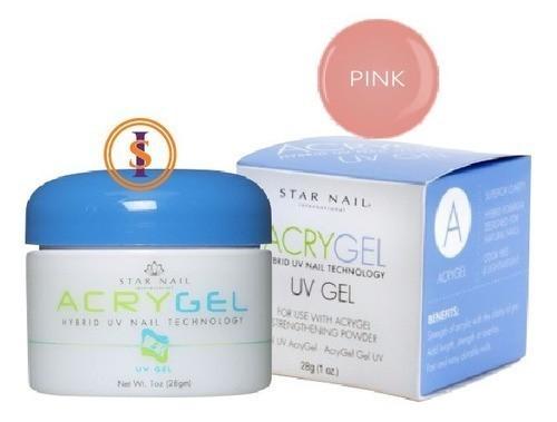 Gel - Acrygel Uv 28g - Pink