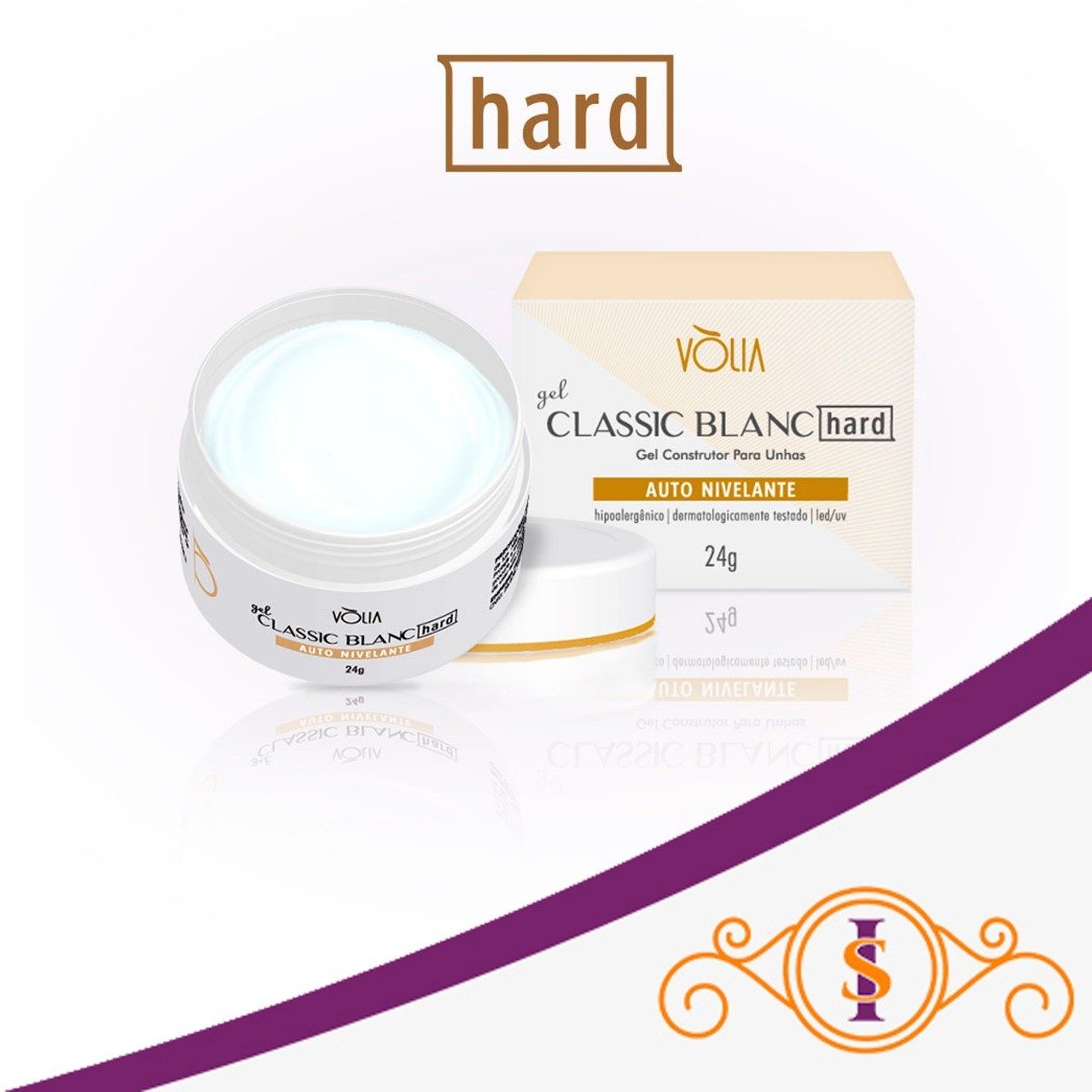 Gel Classic Blanc HARD Vòlia (24g)