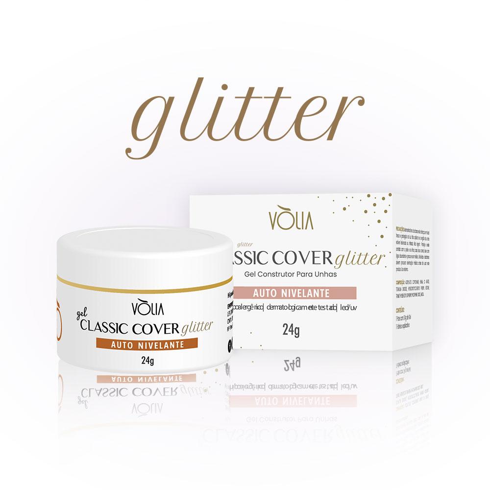 Gel Classic Cover Glitter Vòlia (24g)