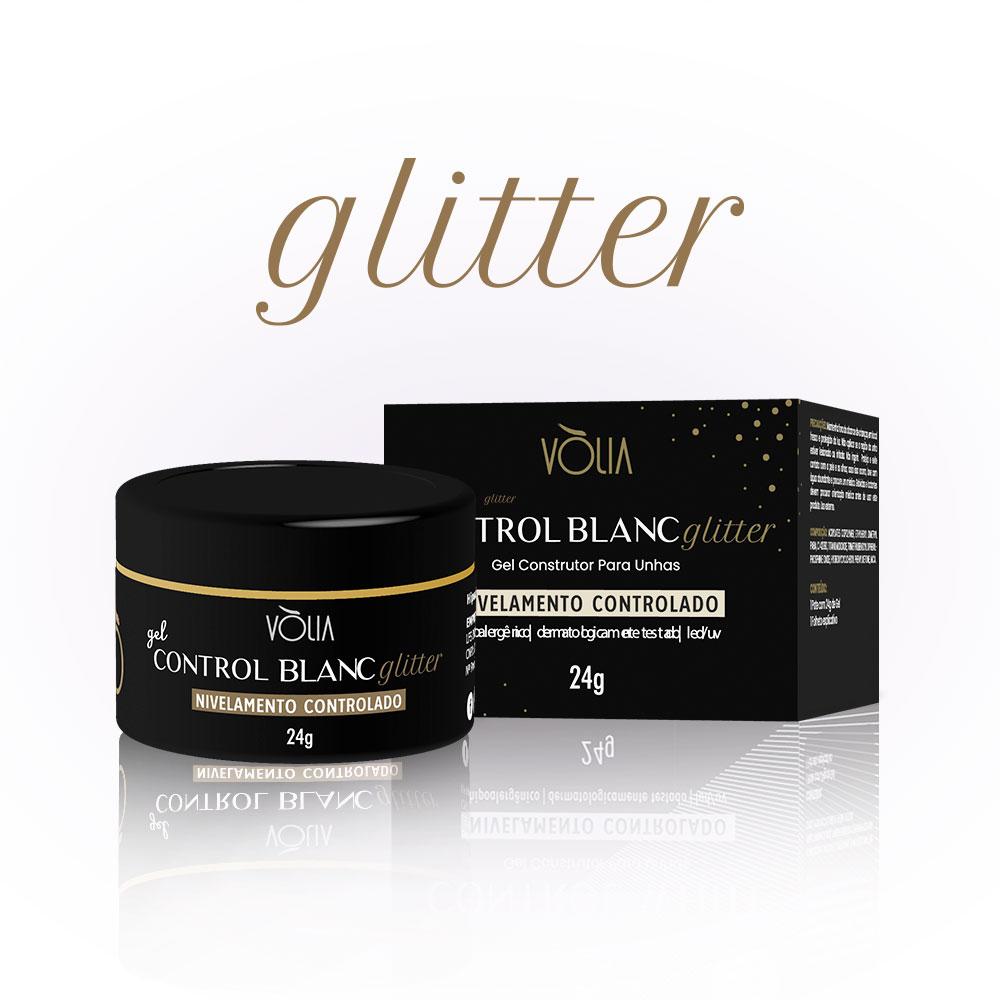 Gel Control Blanc Glitter Vòlia (24g)