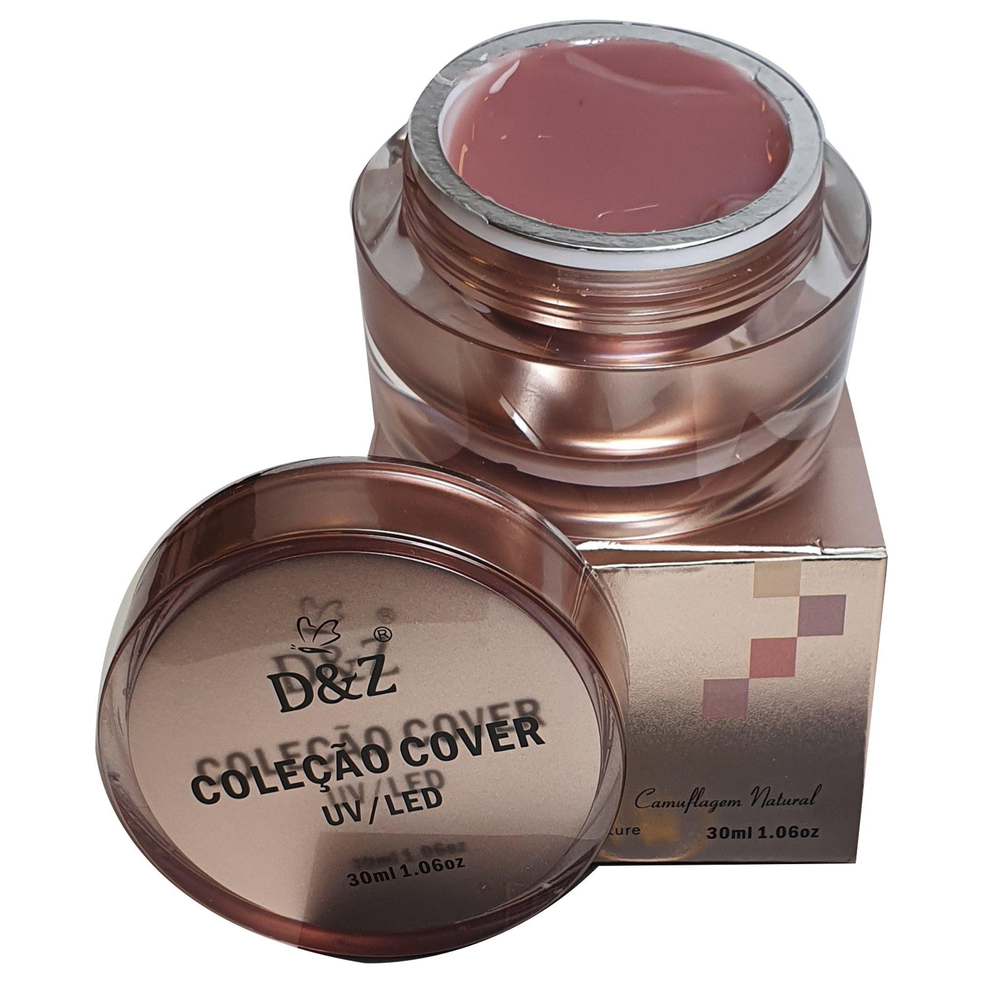 Gel Control LED/UV Camuflagem Natural D&Z 30 ml