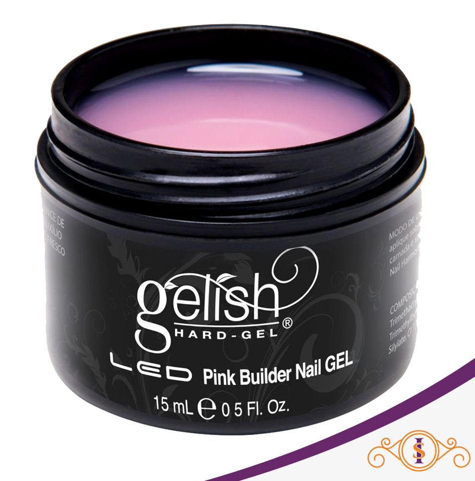 Gel Gelish Hard Pink Builder  - 15g