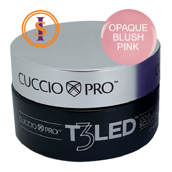 Gel - T3 Controlled Led/Uv 28g - Opaque Blush Pink
