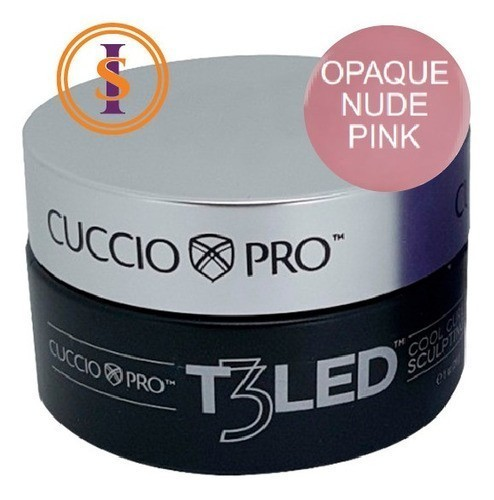 Gel - T3 Controlled Led/Uv 28g - Opaque Nude Pink