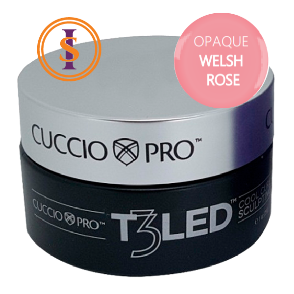 Gel - T3 Controlled Led/Uv 28g - Opaque Welsh Rose