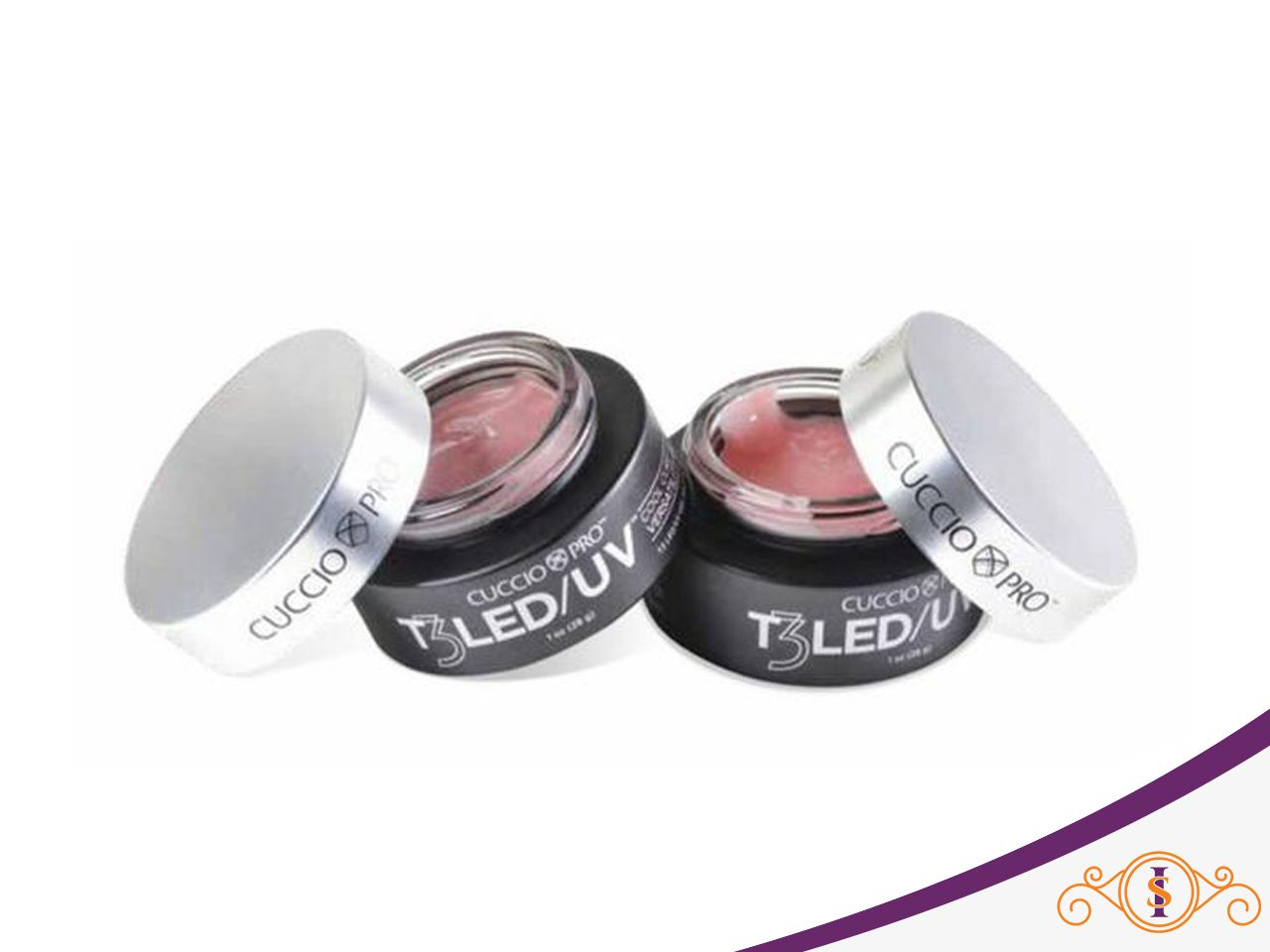 Gel - T3 Controlled Led/Uv - Pink - 56g