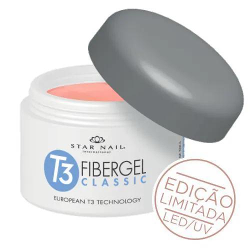 Gel - T3 Fibergel Classic Uv - Brazilian Begonia - 28g