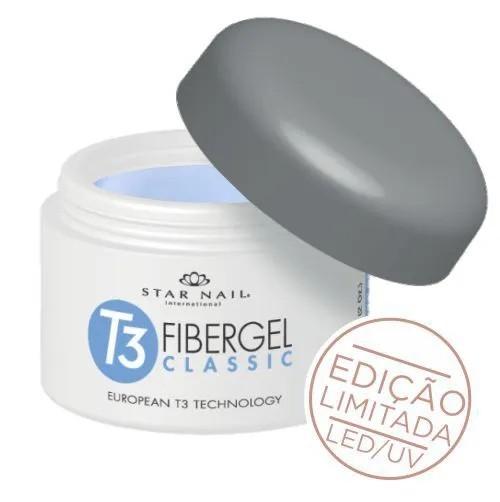 Gel - T3 Fibergel Classic Uv - Brazilian Hortência - 28g