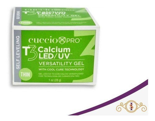 Gel  T3 Self Leveling Led/Uv - Calcium - 28g