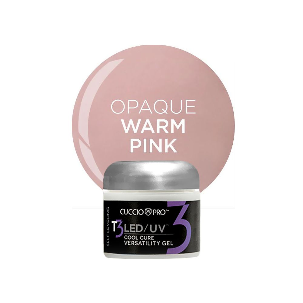 Gel T3 Self Leveling Led/uv - Opaque Warm Pink - 28g
